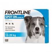 Frontline Spot-on Dog M | 10-20 kg | 3 pipettes