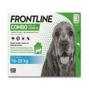 Frontline Combo Dog M | 10-20 kg | 3 pipettes