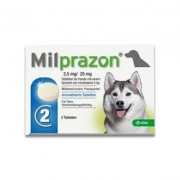 Milprazon Grote Hond (12,5 Mg) - 2 Tabletten