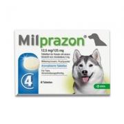 Milprazon Grote Hond (12,5 Mg) - 4 Tabletten