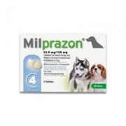 Milprazon Kleine Hond (2,5 Mg) - 4 Tabletten