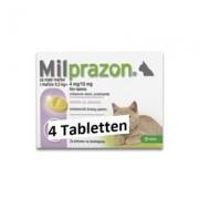 Milprazon Kleine Kat (4 Mg) - 4 Tabletten