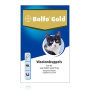 Bolfo Gold 80 | Cat 4-8 kg | 4 pipettes