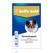 Bolfo Gold 40 | Dog up to 4 kg | 4 pipettes
