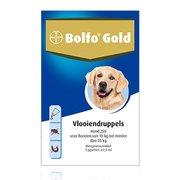 Bolfo Gold 250 | Dog 10-25 kg | 4 pipettes