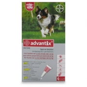 Advantix 250/1250 | Dog 10-25 kg | 4 pipettes