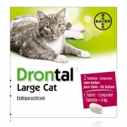 Drontal Large Cat | 2 tabl