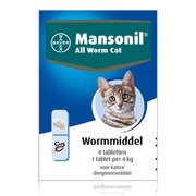 Mansonil All Worm Cat | 4 tablets