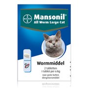 Mansonil All Worm Large Cat | 2 tablets
