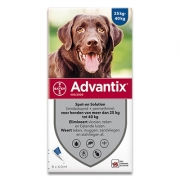 Advantix 400/2000 | Hond 25-40 kg | 6 pipetten