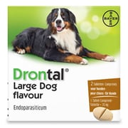 Drontal Large Dog Flavour | 2 tabl