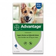 Advantage 400 | Hund 25-40kg | 4 pipetten