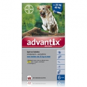 Advantix 400/2000 | Dog 25-40 kg | 6 pipettes