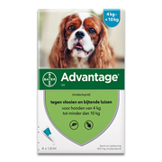 Advantage 100 | Dog 4-10kg | 4 pipettes