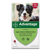 Advantage 250 | Dog 10-25kg | 4 pipettes