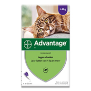 Advantage 80 | Chat 4-8 kg | 4 pipettes