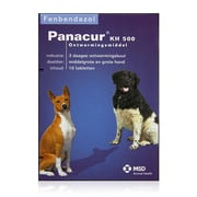 Panacur | KH 500 mg | 10 tabl