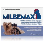 Milbemax Dog small / puppy | 50 tabl