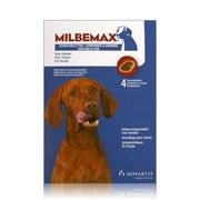 Milbemax Hond Kauwtablet | 4 tabl