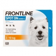 Frontline Spot-on Hund S | 2-10 kg | 6 pipetten
