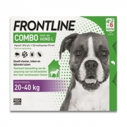 Frontline Combo Dog L | 20-40 kg | 6 pipettes